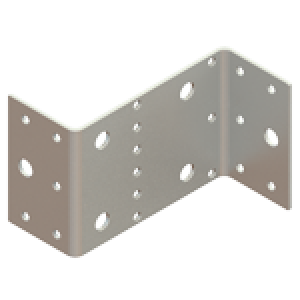 Пластина Z образная 55x105x90